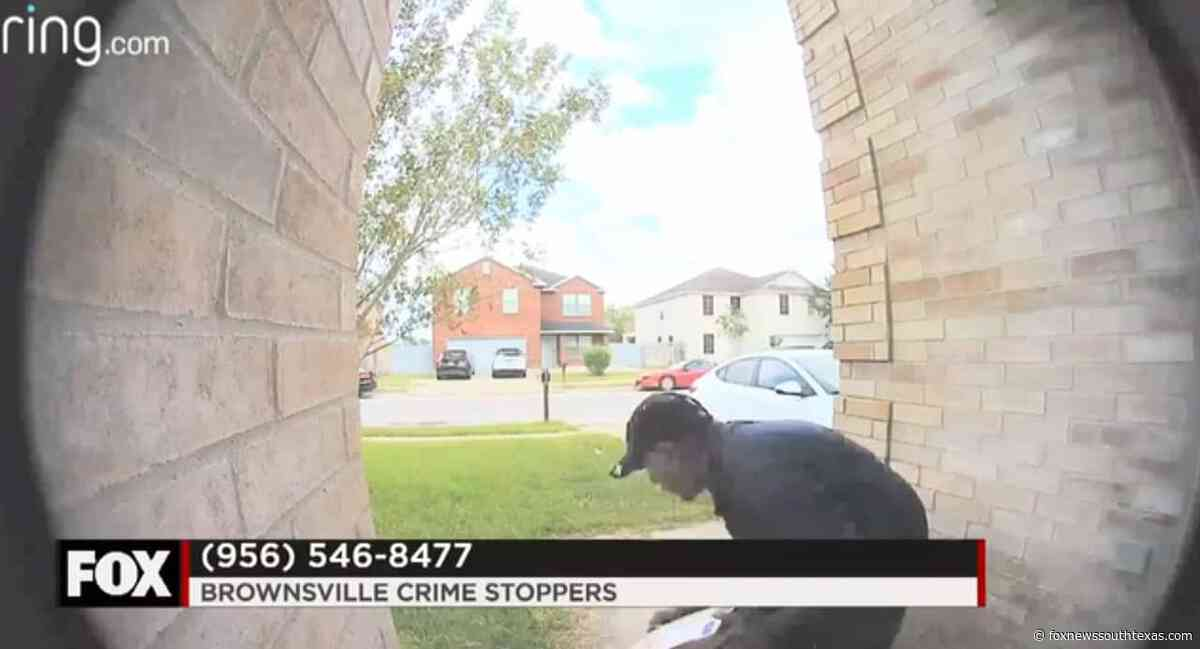 Brownsville Police Look to Identify Alleged Package Thief