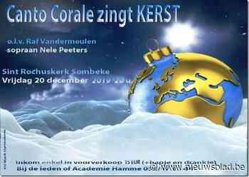 Canto Corale brengt kerstsfeer in Sombeekse kerk