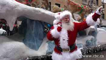 Santa Claus Parade jingles through downtown Montreal