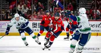 Super Markstrom helps Canucks to shootout win over Capitals