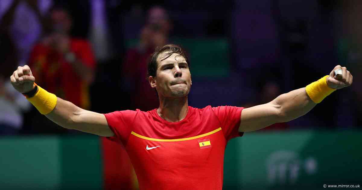 Rafa Nadal inspires Spain to Davis Cup final with win over Great Britain