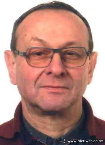 Grote zoekactie met 20 man en helikopter naar vermiste Gilbert Verplancke (67)