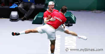 Canadian Men to Meet Spain in Davis Cup Final