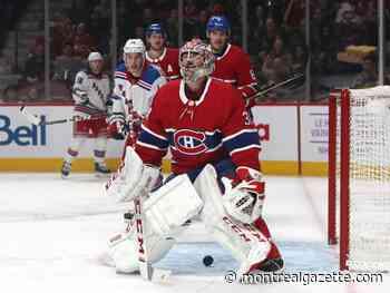 Canadiens blow commanding 4-0 lead as Rangers roar back to win 6-5