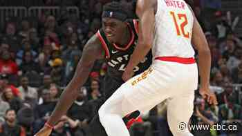 Pascal Siakam puts up 34 points as Raptors hold off Hawks