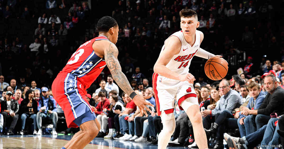 HEAT Fall To Sixers