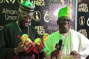 AFRIMA: Awilo, 2Face Idibia receives Legendary awards
