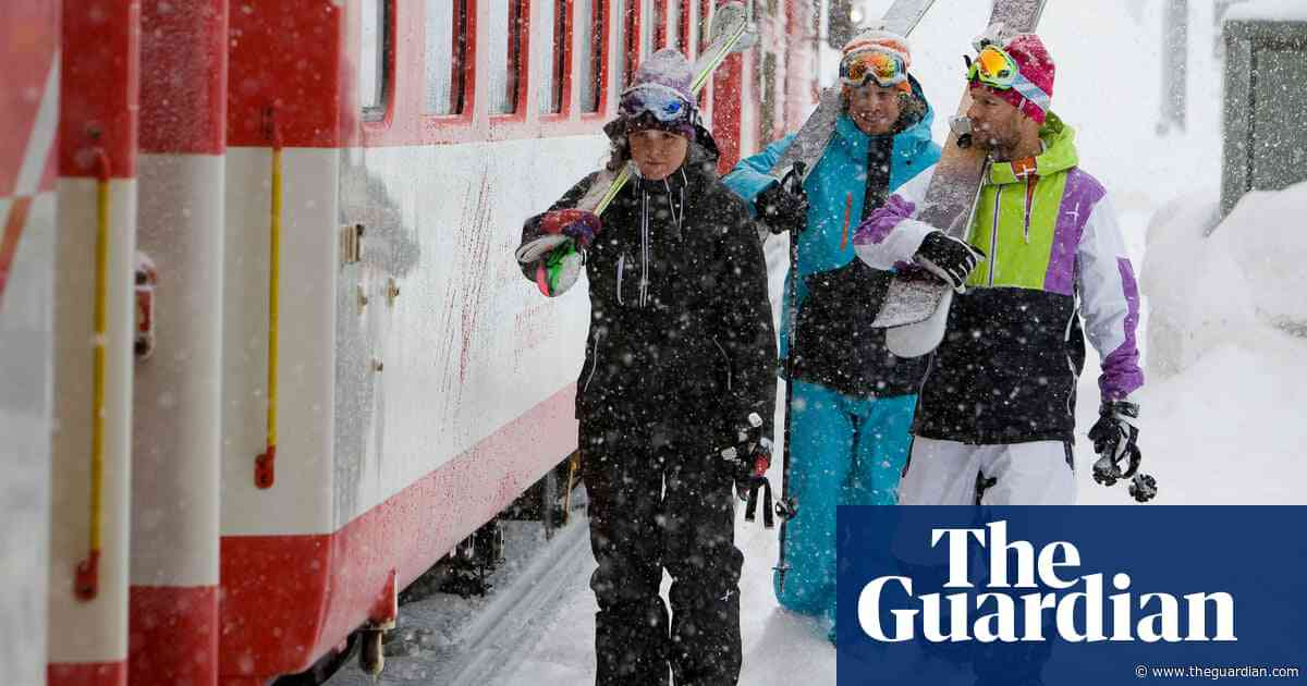 Making tracks: a ski-rail safari in the Swiss Alps