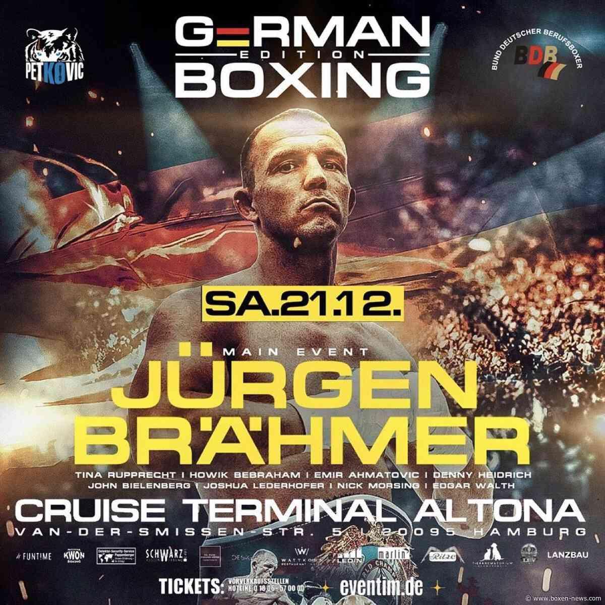Jürgen Brähmer vs Jürgen Doberstein am 21.12 in Altona, Hamburg