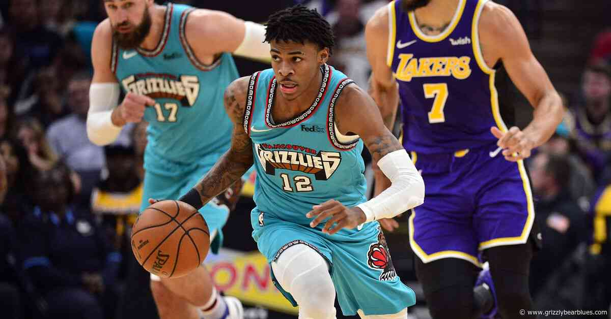 Report Card: Lakers outlast Grizzlies on throwback night