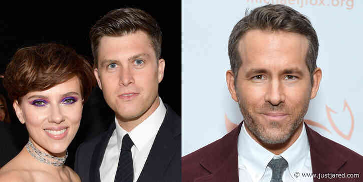 See What Colin Jost Said About Scarlett Johansson's Ex Husband Ryan Reynolds During 'SNL' Sketch!