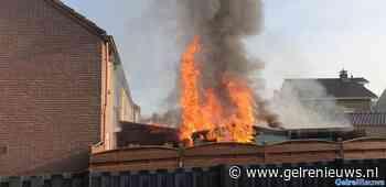 Schuurtje brandt volledig af in Gendt