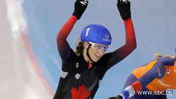 Ivanie Blondin, Laurent Dubreuil add to speed skating medal run in Poland