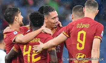 Roma 3-0 Brescia: Chris Smalling scores and assists as Roma ease through rock-bottom Brescia