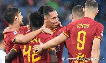Roma 3-0 Brescia: Chris Smalling scores and assists twice as Roma ease through rock-bottom Brescia