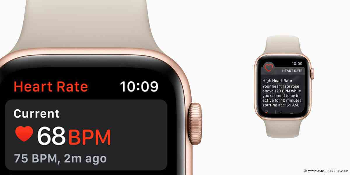 Apple Watch saved a grandma's life by catching heart condition