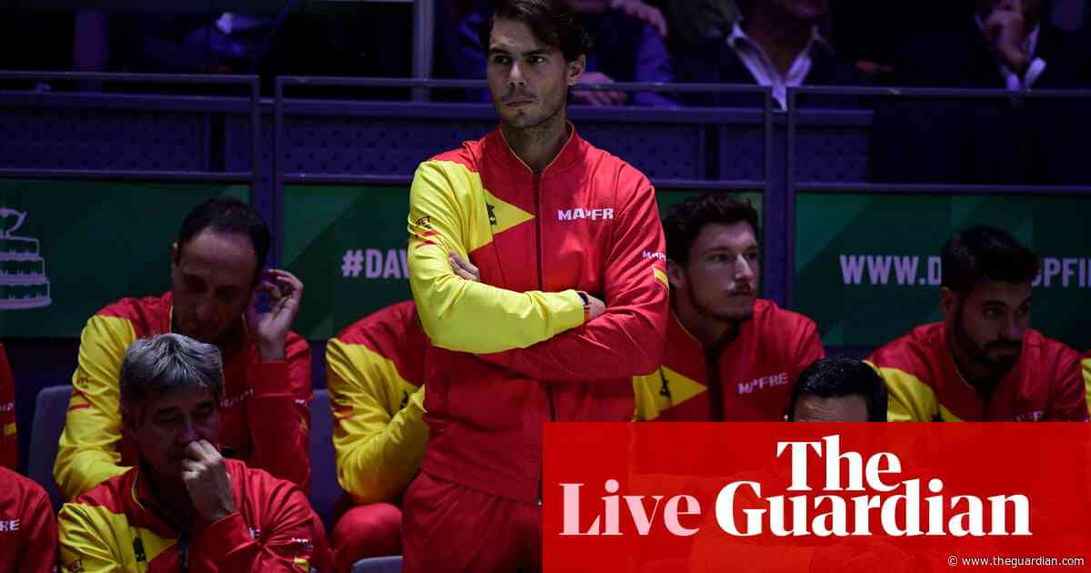 Davis Cup final: Rafael Nadal bids to seal Spain win over Canada – live!