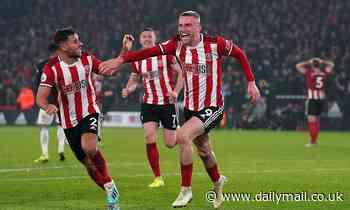 Sheffield United 3-3 Manchester United: Oli McBurnie scores dramatic last-gasp equaliser
