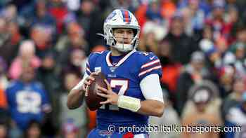 Bills up 6-0 at halftime, but could be more