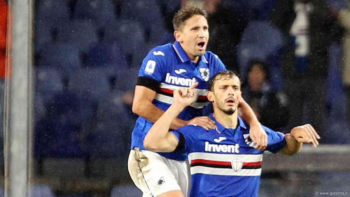 Sampdoria-Udinese 2-1: Gabbiadini e Ramirez gol dopo la rete di Nestorovski