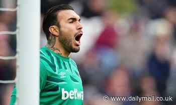 West Ham's Roberto could be the worst Premier League goalkeeper since Massimo Taibi