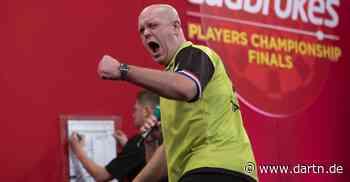 Van Gerwen gewinnt WM-Generalprobe in Minehead