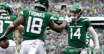 Jets' Offense Pours It On Against Raiders