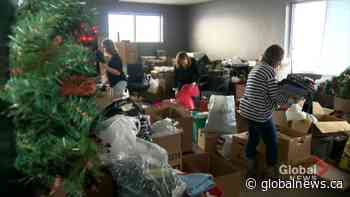 Holiday cheer for flood victims