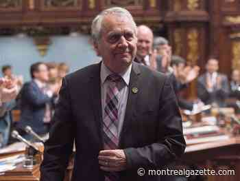 Long-time MNA François Gendron calls for more respect of National Assembly speaker's office