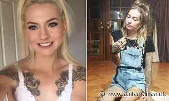 Heavily-tattooed blonde, 23, jailed for kidnapping