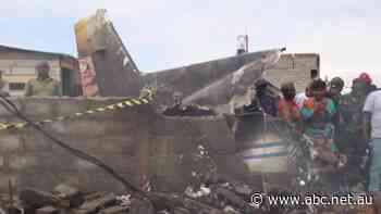 Congo light plane crash kills 27 people