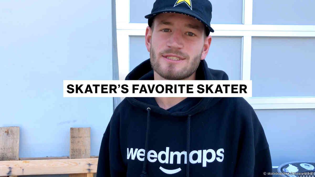 Skater's Favorite Skater | Clay Kreiner