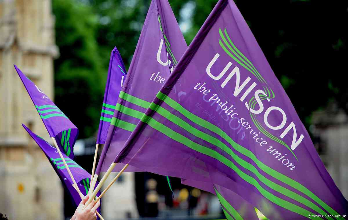 UNISON sends solidarity message to UCU strikers