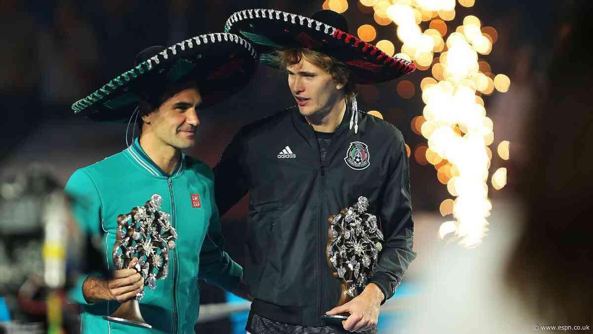 Federer, Zverev break world record for tennis crowd