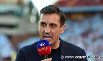 Gary Neville urges Man United to bolster their midfield in January