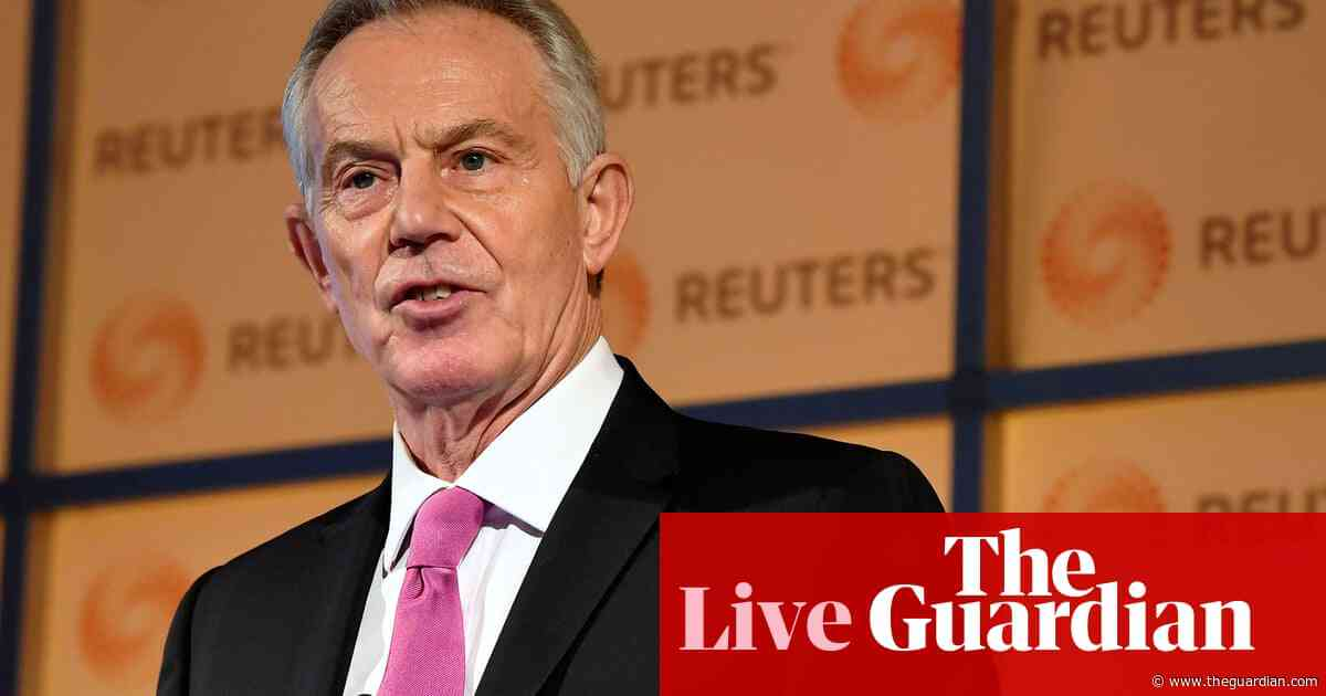 General election: Tony Blair says Tories and Labour both 'peddling fantasies' – live news