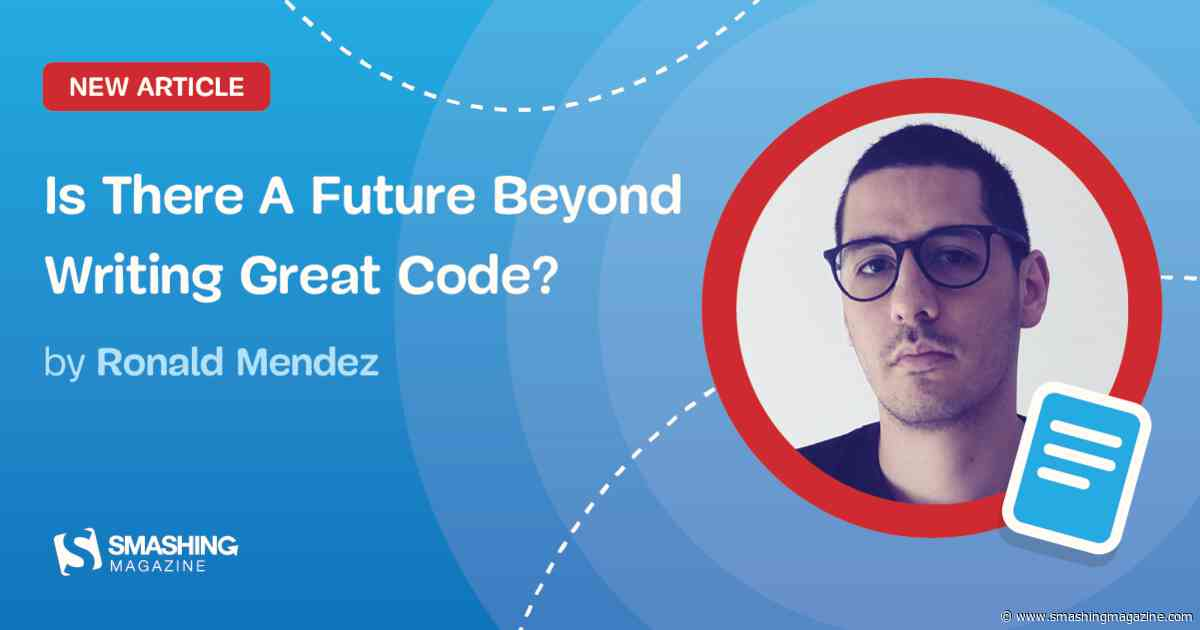 Is There A Future Beyond Writing Great Code?