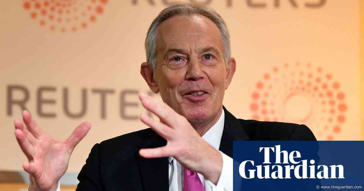 Tony Blair says Tories and Labour engaged in 'populism running riot'