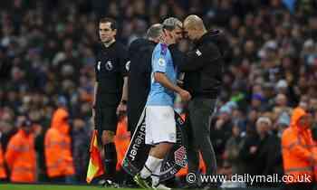 Man City's Sergio Aguero set to miss Manchester derby