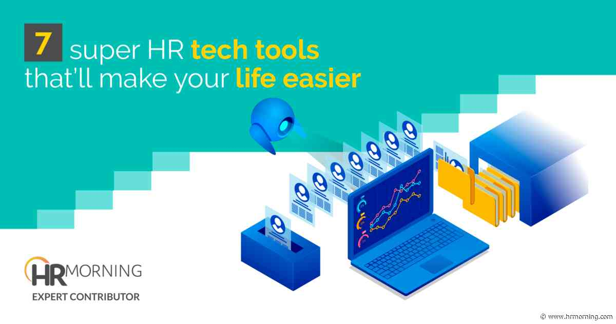 7 super HR tech tools that'll make your life easier