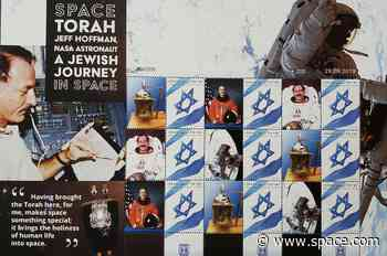 Postage Stamps Feature First Torah in Space, Support Documentary