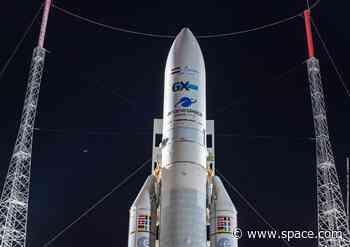Watch Live Tuesday: Ariane 5 Rocket Launching 2 Satellites