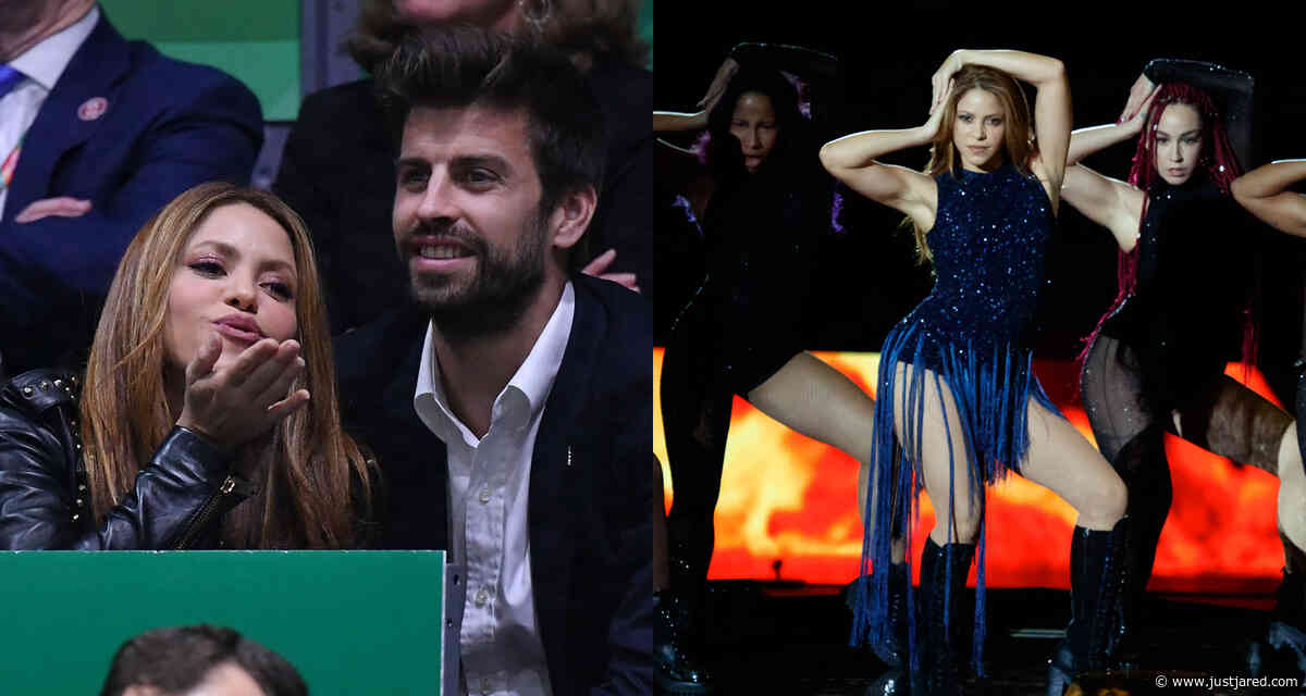 Shakira Gets Support form Gerard Pique at Davis Cup Finals Closing Ceremony Performance - Watch Here!