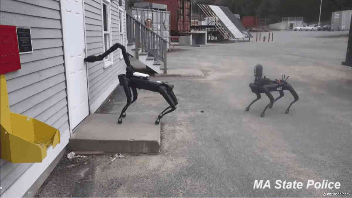 U.S. Police Already Using 'Spot' Robot From Boston Dynamics in the Real World