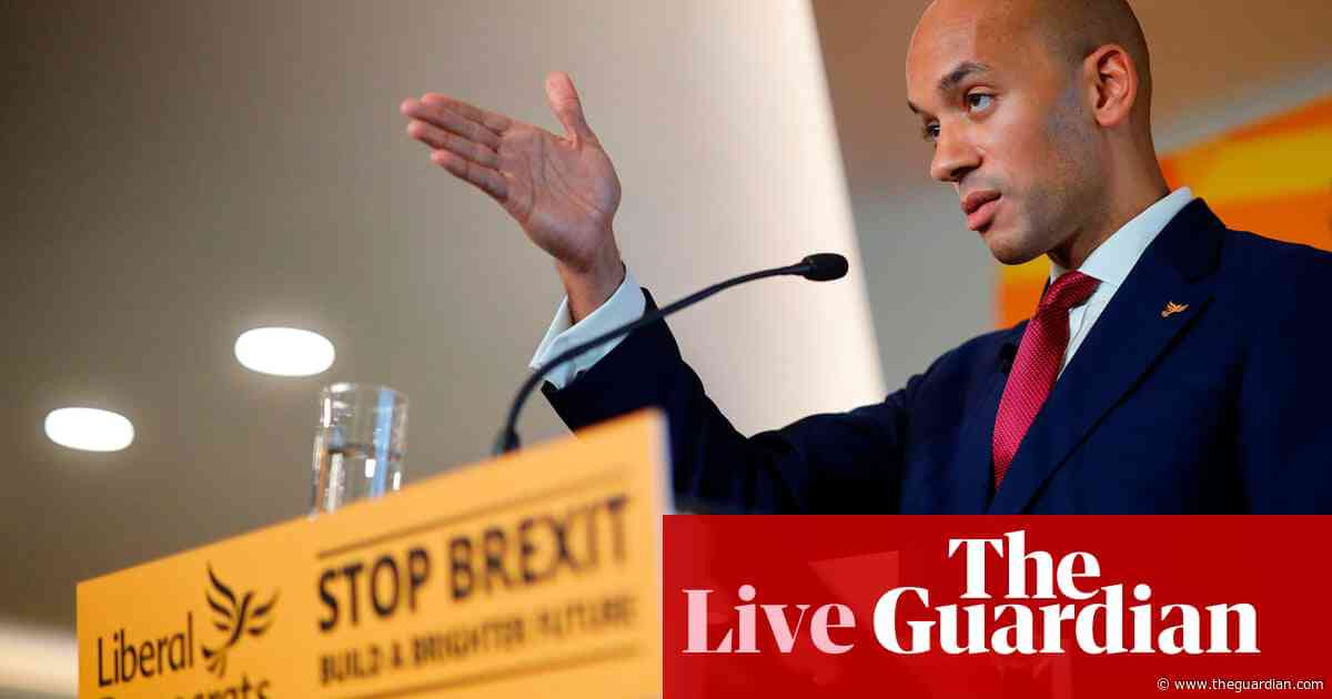 General election: Johnson's record of lying and prejudice makes him unfit to be PM, say Lib Dems – as it happened