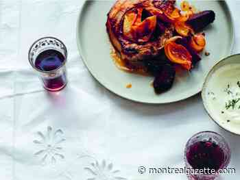 Six O'Clock Solution: Pork Chops Baked with Beets and Apples