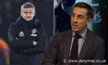 Gary Neville calls on Solskjaer to spend or claims he will not be at Manchester United for long