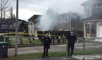 Surrey senior killed in 2-alarm house fire: RCMP