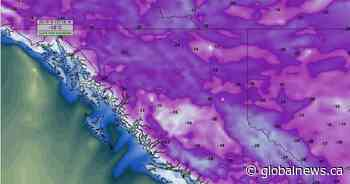 B.C. weather outlook: get ready for a taste of winter