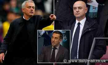 Gary Neville claims Jose Mourinho has only taken Spurs job as a 'bridge' to re-establish himself